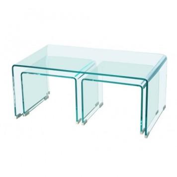 Mesa Trio de cristal Tools