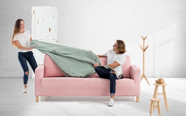 Viste tu sofá con estilo